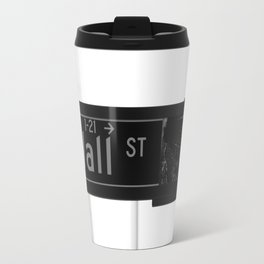 Wall St. Minimal - NYC Travel Mug