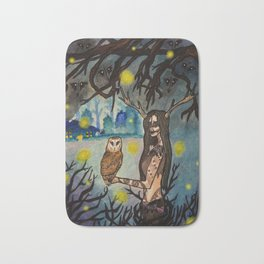 Forest Crone Bath Mat