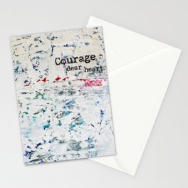courage, dear heart Stationery Cards