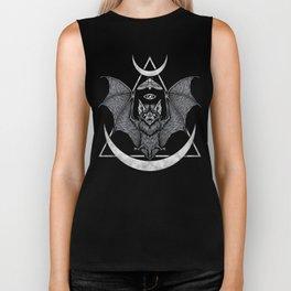 Occult Bat Biker Tank