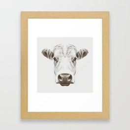 Cow Sym Framed Art Print
