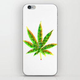 Cannabis Rainbow Design (68) iPhone Skin