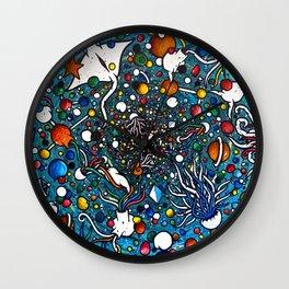Space-Ocean Big Bang Wall Clock