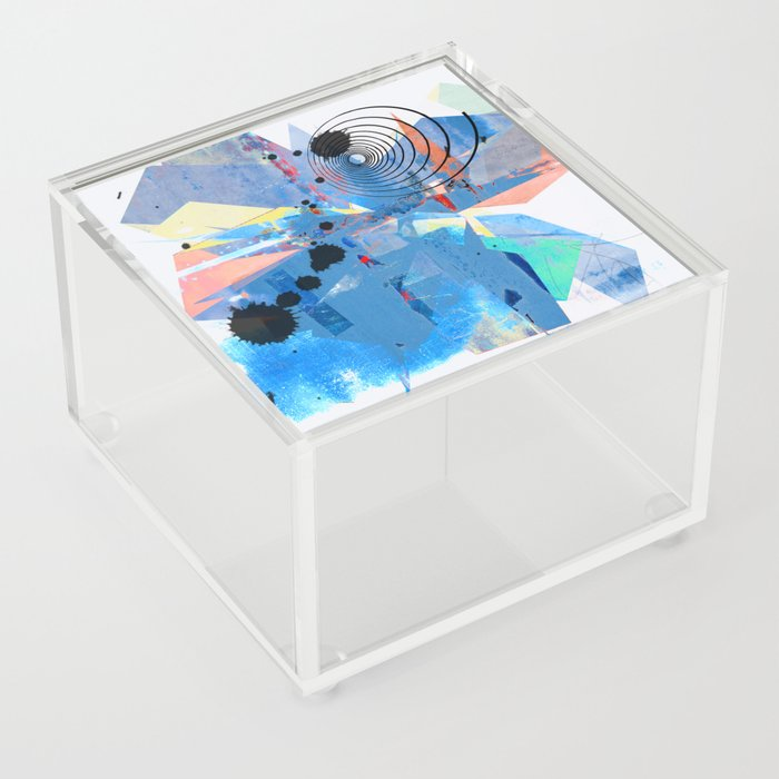 Origami Alarm II Acrylic Box