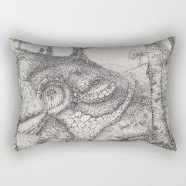 The Beckoning Road Rectangular Pillow
