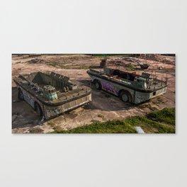 Tanks Canvas Print
