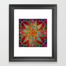 The Beauty of Geometry 3 Framed Art Print
