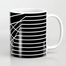 Line Complex Dark Triangle Coffee Mug