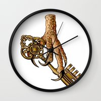 ravenclaw Wall Clocks featuring Ravenclaw by SDKCreative