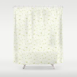 Leaves in Fern Shower Curtain