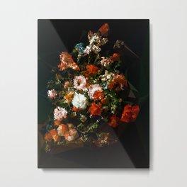 Bouquet No. 11 - Kubistika by Boris Draschoff Metal Print