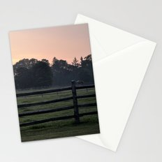 Billings Farm Sunrise at Woodstock, Vermont  Stationery Cards