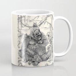 Koko Love Graphite Drawing Coffee Mug