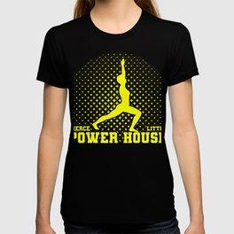Gymnast Gift Fierce Litte Power House Fun Gymnastics T-shirt