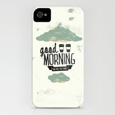 Good morning 02 iPhone (4, 4s) Slim Case