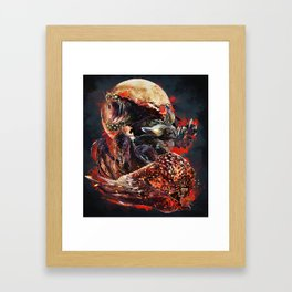 The Four Horsemen of the Apocalypse (Moon) Framed Art Print