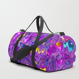 melted fractal 1A Duffle Bag