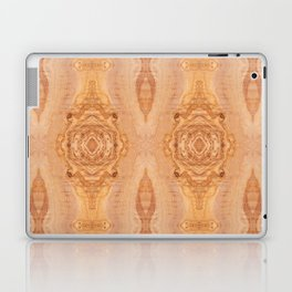 Olive wood surface texture abstract Laptop & iPad Skin