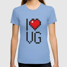 PAUSE – I Love Video Games T-shirt