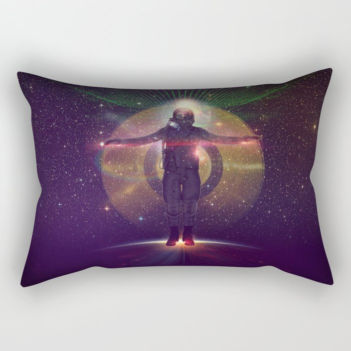 Space Oddity Rectangular Pillow