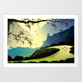 Alum Rock Canyon Art Print