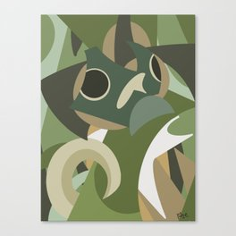 Shapes of Bruce Canvas Print