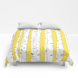 Aspen Forest - Yellow Comforters