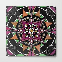 Mandala 011 Metal Print