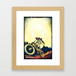 jdm bmx Framed Art Print