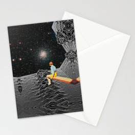 unknown pleasures to Infinity Stationery Cards