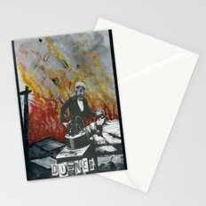 Complimentary Anesthetics amidst firebomb and spiritual tranquilizer raid. Stationery Cards