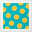 Oranges - Fruit Pattern by colorandpatterns