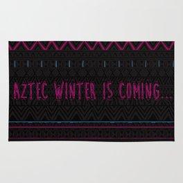 Aztec Winter is coming... Rug