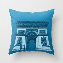 Arc de Triomphe Throw Pillow