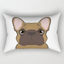Frenchie - Fawn Rectangular Pillow