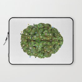 Circuit brain Laptop Sleeve