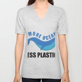 Ocean Less Plastic Unisex V-Neck