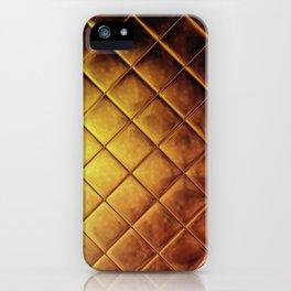 Gold Square iPhone Case