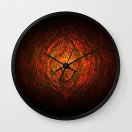 Knotty Wood Work 01 Wall Clock