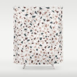 Terrazzo AFE_T2019_S15_2 Shower Curtain