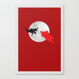 BAT VS SUP Canvas Print