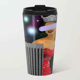 Beauty of the City Collage Metal Travel Mug