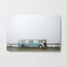 On Tour Metal Print