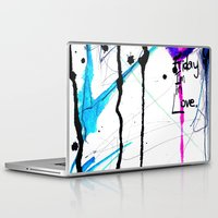 friday Laptop & iPad Skins featuring Friday by Holly Sharpe