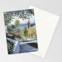 Early Summer In Petoskey Stationery Cards