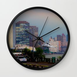 The fast commute - the slow commute Wall Clock