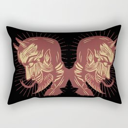 Handsome Devil Rectangular Pillow