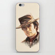 Clint Eastwood tribute iPhone & iPod Skin