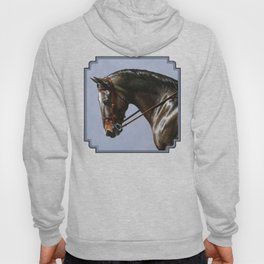 Brown Dressage Horse Hoody