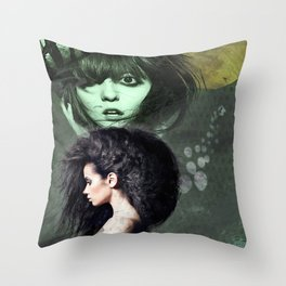 Cirque de la Lune, Pt. 1 Throw Pillow